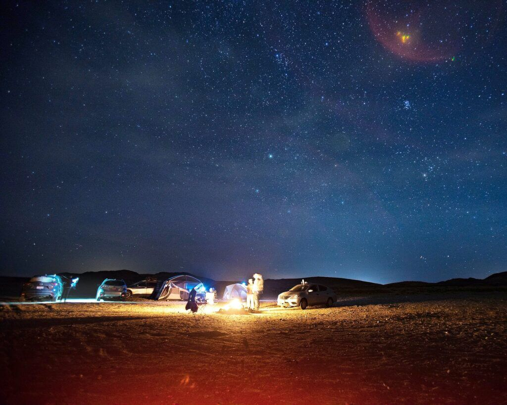 Camping Under Night Sky - Tips for the Ultimate Road Trip
