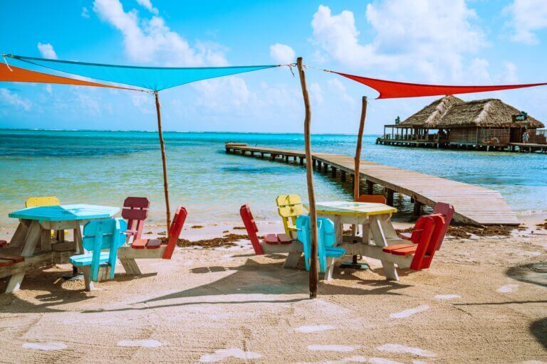 Ambergris Caye, Belize beach 10 Must Visit Budget Travel Destinations 2021 Chubby Diaries