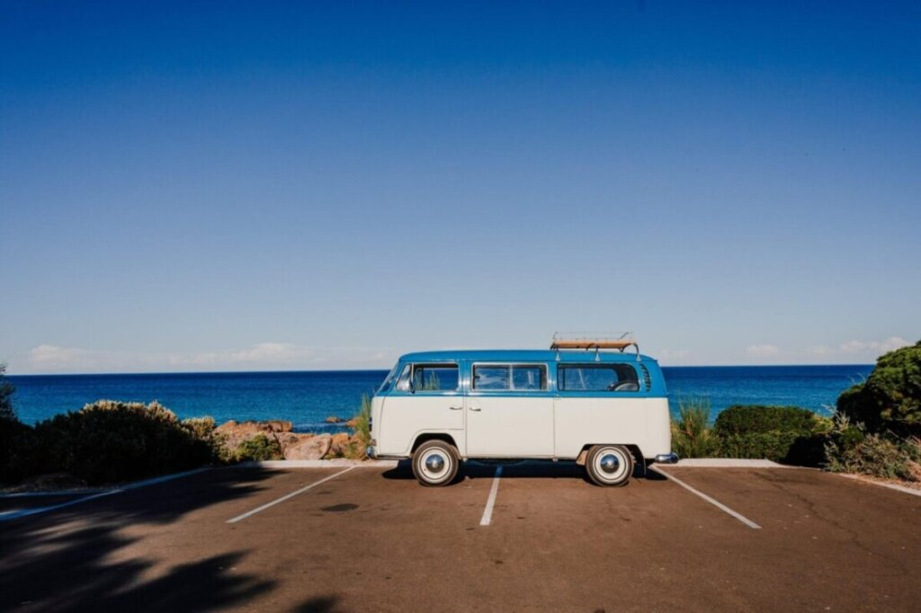Retro Trailer on Paved Parking - Plus Size Friendly Tips for the Ultimate Road Trip