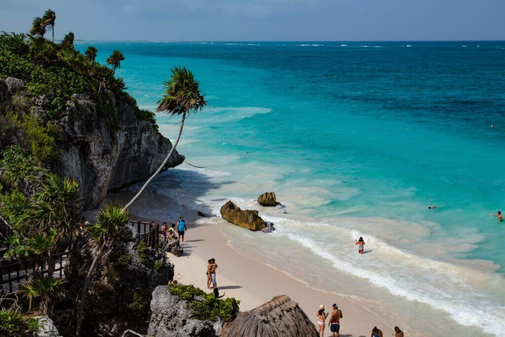 Beach near Tulum Archaeological Zone The Ideal Weekend in Tulum Itinerary Chubby Diaries