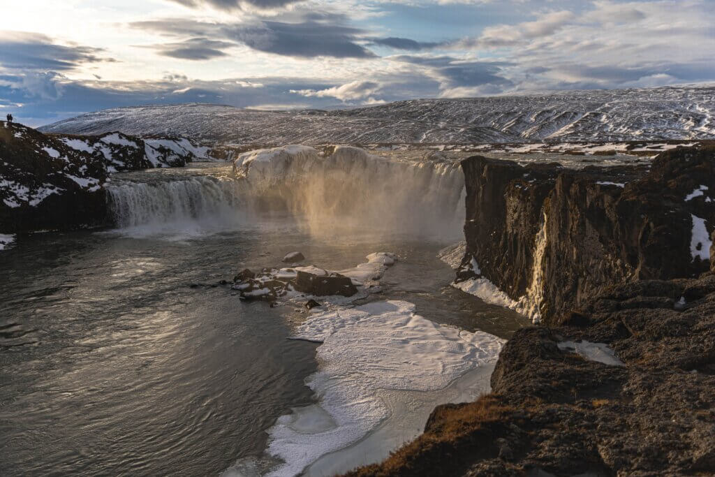 Waterfall of the Gods Tabitha Bear 5 of the Best Things to do in Iceland Plus Size Friendly Edition Chubby Diaries