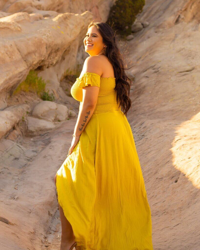 Leah Arao LA In Flight Posing Tips and Tricks From Top Travel Bloggers Chubby Diaries