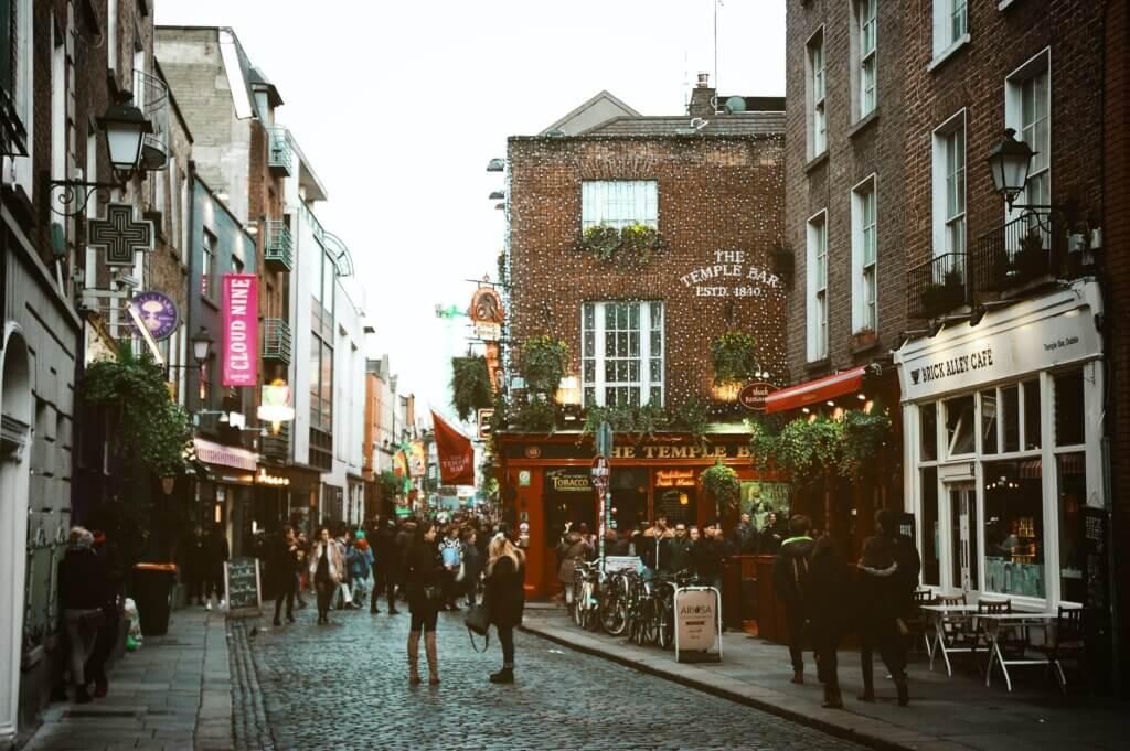 Temple Bar, Dublin Diego Palhais Chubby Diaries